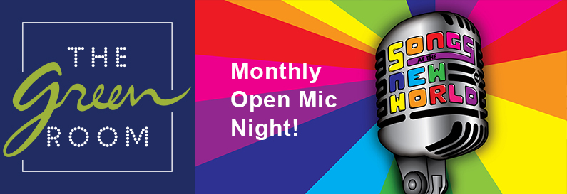 Songs at the New World, a monthly open mic night